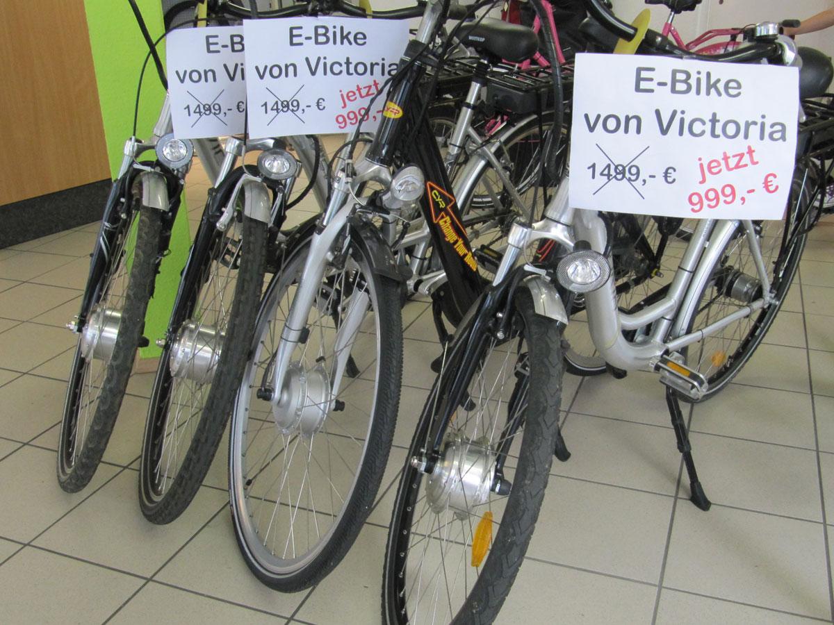 Sonderangebot Victoria E-Bikes