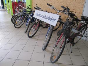 Auswahl gebrauchter Fahrräder bei Schulte-Hostede Lippstadt