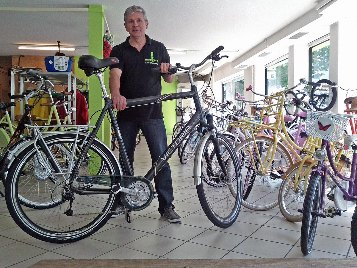 Victoria Schwerte - das Fahrrad für große und schwere Radfahrer