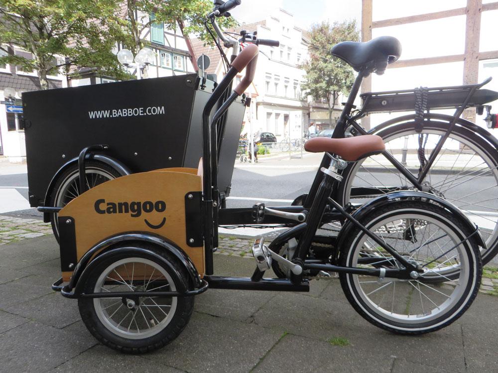 Cangoo Mini-Fahrrad 1