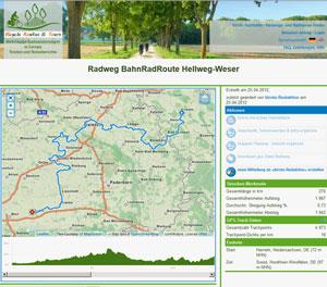 Bahn-Rad-Route Hellweg-Weser