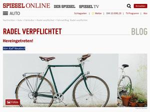 Radblog auf spiegel.de